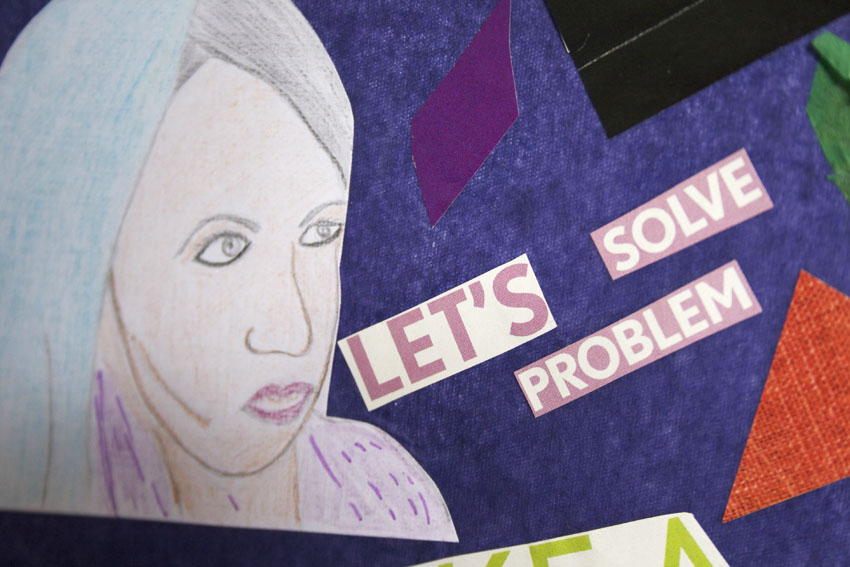 Shakila's collage detail 3